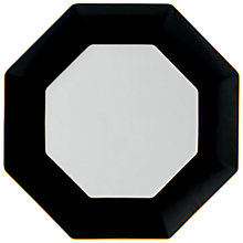 Buy Wedgwood Arris Octagonal Charger Plate, Charcoal Online at johnlewis.com