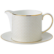 Buy Wedgwood Arris Sauce Jug and Stand Online at johnlewis.com