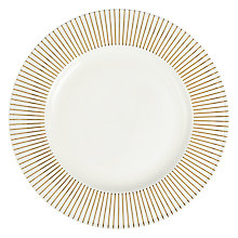 Buy John Lewis Mirror Dessert Plate, White Online at johnlewis.com
