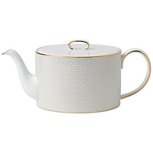 Buy Wedgwood Arris Teapot Online at johnlewis.com