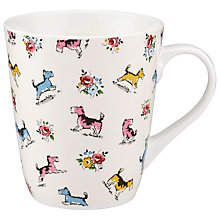 Buy Cath Kidston Billie and Friends Cream Stanley Mug Online at johnlewis.com