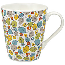 Buy Cath Kidston Little Leaves White Stanley Mug Online at johnlewis.com