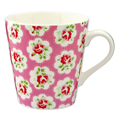 Cath Kidston Mini Provence Rose Stanley Mug, Set of 4