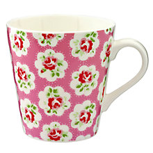 Buy Cath Kidston Mini Provence Rose Stanley Mug, Set of 4 Online at johnlewis.com
