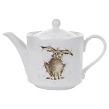 Buy Royal Worcester Wrendale Hare Teapot, 1.13L Online at johnlewis.com