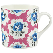 Buy Cath Kidston Provence Rose Billie Electric Pink Mug Online at johnlewis.com