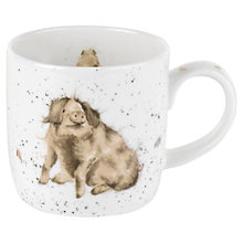 Buy Portmeirion Wrendale Pig Mug Online at johnlewis.com