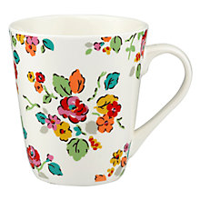 Buy Cath Kidston Woodland Rose Bright Stanley Mug Online at johnlewis.com