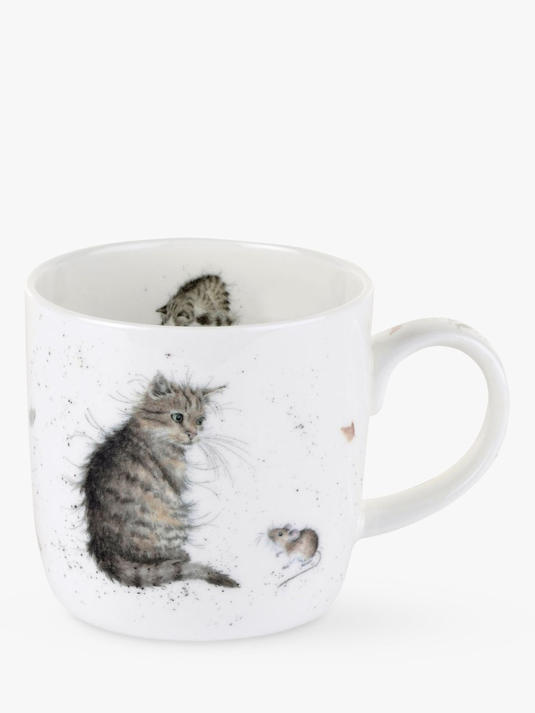 Royal Worcester Royal Worcester Wrendale Cat & Mouse Mug