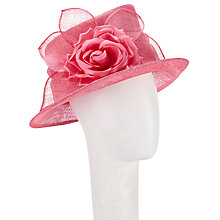 Buy John Lewis Maggy Small Sinamay Bow Rose Occasion Hat Online at johnlewis.com
