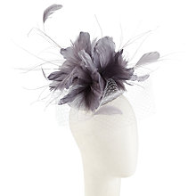 Buy Walter Wright Hazel Flower Occasion Hat, Oyster Online at johnlewis.com