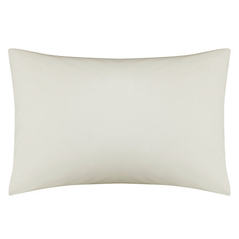 Buy John Lewis 200 Thread Count Egyptian Cotton Standard Pillowcase Online at johnlewis.com