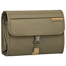Buy Briggs & Riley Deluxe Wash Bag, Olive Online at johnlewis.com