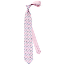 Buy Thomas Pink Elephant and Ball Printed Silk Tie Online at johnlewis.com
