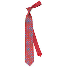 Buy Thomas Pink Bird On A Branch Silk Tie Online at johnlewis.com