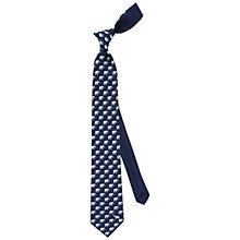 Buy Thomas Pink Elephant and Ball Printed Silk Tie, Navy/Blue Online at johnlewis.com