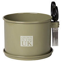 Buy Garden Trading Herb Pot & Scissors Online at johnlewis.com