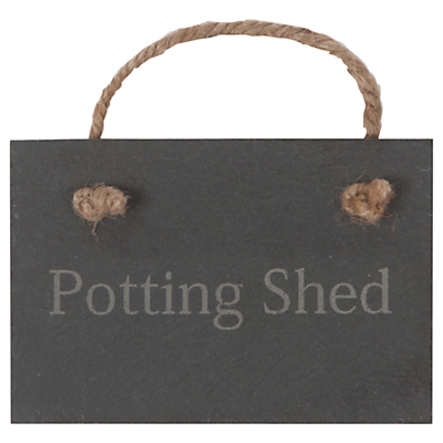 Garden Trading Potting Shed Slate Sign