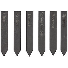 Buy Garden Trading Set of Vegetable Slate Markers Online at johnlewis.com