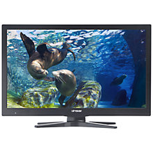 "Buy Linsar 24LED1600 HD Ready LED Smart TV, 24"" with Freeview HD, Pause, Record & Rewind Function and Wi-Fi Dongle Online at johnlewis.com"