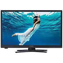 "Buy Linsar 24LED3000 LED HD Ready Smart TV/DVD Combi, 24"" with Freeview HD and Built-In Wi-Fi Online at johnlewis.com"
