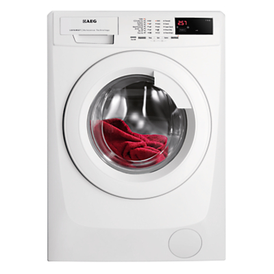 AEG L68270FL Freestanding Washing Machine, 7kg Load, A+++ Energy Rating, 1200 rpm Spin, White