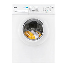 Buy Zanussi ZWF61200W Freestanding Washing Machine, 6kg Load, A+ Energy Rating, 1200rpm Spin, White Online at johnlewis.com