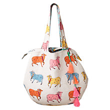 Buy East Jaisalmer Cow Handbag, Multi Online at johnlewis.com