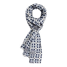 Buy Gérard Darel Aruf Scarf, Blue Online at johnlewis.com