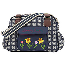 Buy Pink Lining Blooming Gorgeous Butterfly Print Baby Changing Bag, Navy Online at johnlewis.com