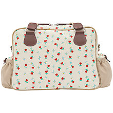 Buy Pink Lining Not So Plain Jane Tulip and Forget Me Not Baby Changing Bag, Cream Online at johnlewis.com