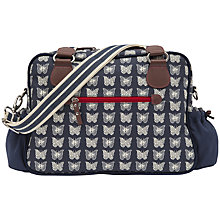 Buy Pink Lining Not So Plain Jane Butterfly Print Baby Changing Bag, Navy Online at johnlewis.com