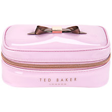 Buy Ted Baker Bekkah Jewellery Case Online at johnlewis.com