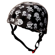 Buy Kiddimoto Skullz Helmet, Small Online at johnlewis.com