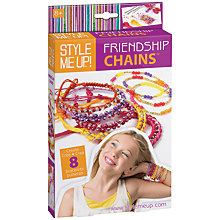 Buy Style Me Up Friendship Chains Craft Kit Online at johnlewis.com
