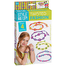 Buy Style Me Up Twisted Fashion Craft Kit Online at johnlewis.com