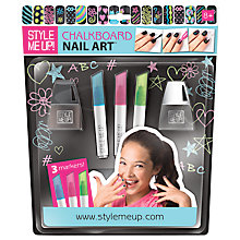 Buy Style Me Up Chalkboard Nail Art Online at johnlewis.com