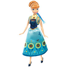 Buy Disney Frozen Fever Birthday Party Anna Doll Online at johnlewis.com