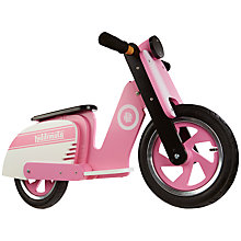 Buy Kiddimoto Pink Stripe Scooter Online at johnlewis.com