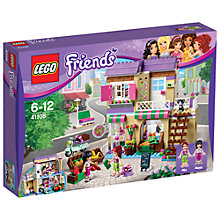 Buy LEGO Friends Heartlake Food Market Bundle with Free Activity Book Online at johnlewis.com
