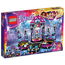 Buy LEGO Friends Pop Star Show Stage Bundle with Free Activity Book Online at johnlewis.com
