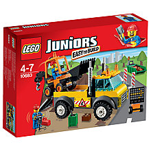 Buy LEGO Juniors Road Work Truck Online at johnlewis.com