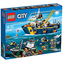 Buy LEGO City Deep Sea Explorer Vessel Online at johnlewis.com