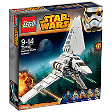 Buy LEGO Star Wars 75094 Imperial Shuttle Tydirium Online at johnlewis.com