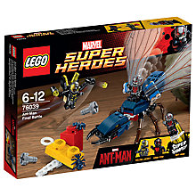 Buy LEGO Super Heroes Ant Man Final Battle Online at johnlewis.com