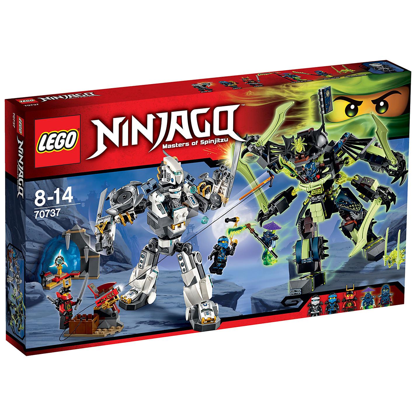 Lego Mech Suit Ninjago Buy Lego Ninjago Titan Mech