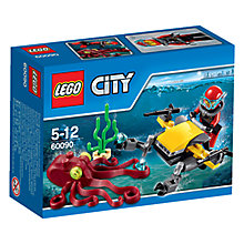 Buy LEGO City Deep Sea Scuba Scooter Online at johnlewis.com