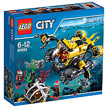 Buy LEGO City Deep Sea Submarine Bundle with Free Watch Online at johnlewis.com