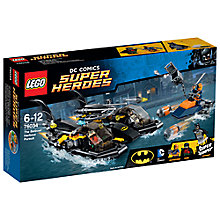 Buy LEGO Super Heroes The Batboat Harbour Pursuit Online at johnlewis.com
