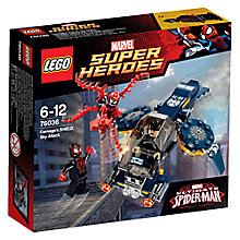 Buy LEGO Super Heroes 76036 Carnage's Shield Sky Attack Online at johnlewis.com